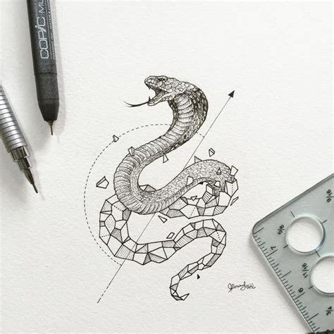 geometric tattoo manila geometric beasts snake