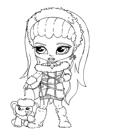 monster high coloring pages baby and pet baby monster high coloring pages 569878