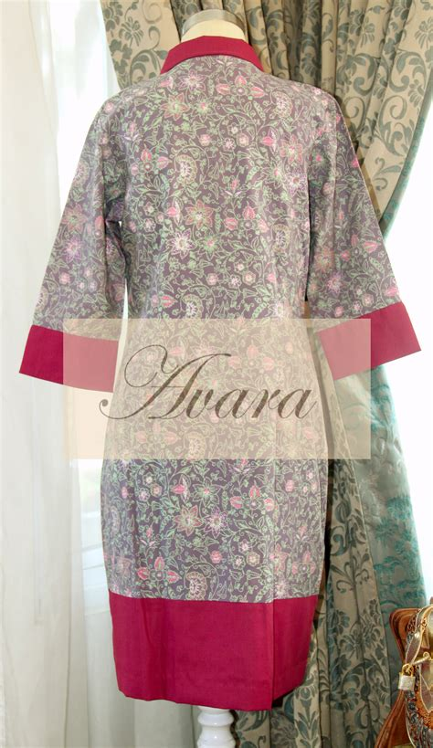 Tunik Batik Ayunda Dress Batik ara dress