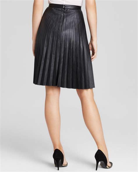 black leather pleated skirt black leather pleated skirt redskirtz