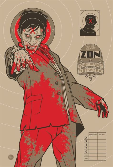 printable zombie gun targets zombie target program ideas non crafts pinterest