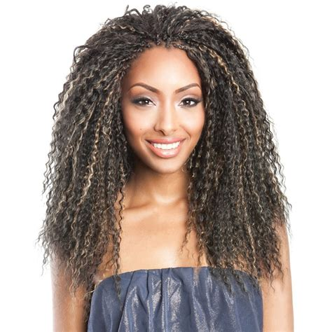 Kanteana Caribbean Hairstyles Weaves | isis collection caribbean bundle braids brazilian curl