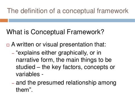 how to make a conceptual framework in research paper qualitative research