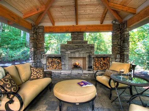 outdoor living areas with fireplaces 20 stunning outdoor fireplaces bridgman