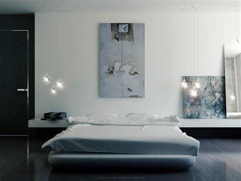 bedroom wall painting modern art vitaly svyatyuk cool art cool pallete bedroom