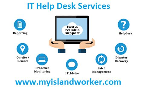 helpdesk or help desk outsourcing it help desk services myislandworker