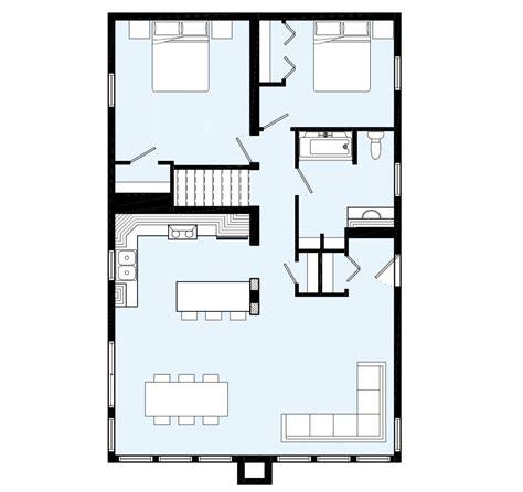 Floor Plans For Cottages by Maison Neuve Chalets Mod 232 Le St Hilaire