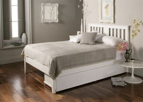 1 double bed malmo white wooden bed frame double bed frame including