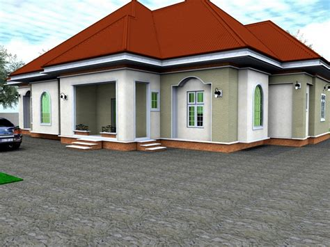 6 bedroom bungalow house plans 4 bedroom bungalow house design in nigeria best 2017
