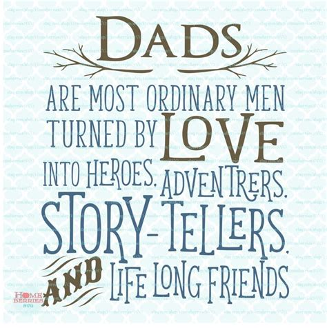 fathers day quotes dads are ordinary svg fathers day svg fathers day