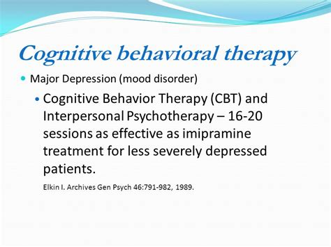 how effective is therapy heidi combs md romm md ppt