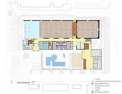 recreation center floor plans architecture photography first floor plan 171772