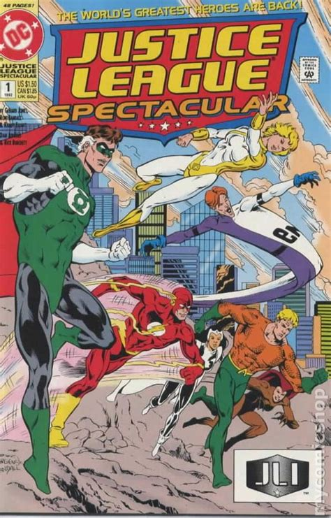 justice books justice league spectacular 1992 comic books