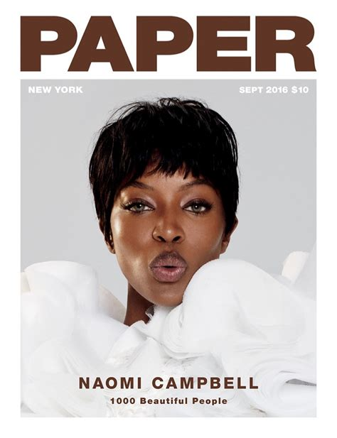 How To Make Magazine Paper - cbell rocks the pixie haircut in paper magazine
