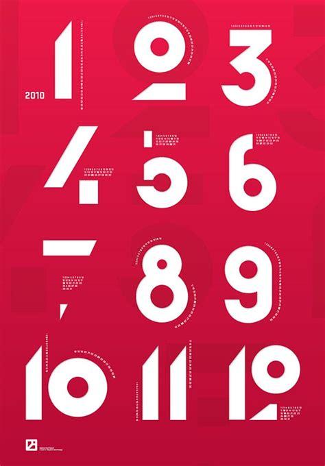 designspiration numbers poster design by krzysztof iwanski
