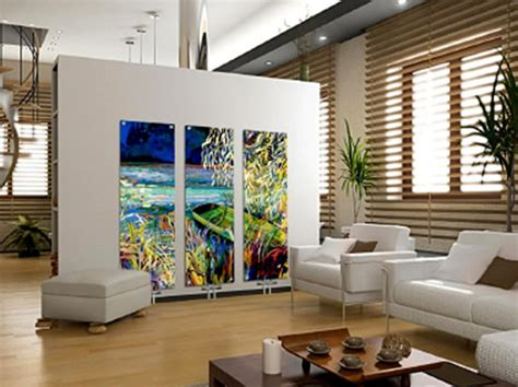 Amazing Home Interior Designs | home interior decorating contemporary art glass radiators