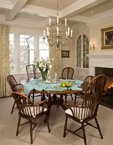 colonial dining room santa barbara dutch colonial beach style dining room
