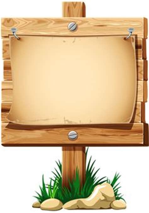 wooden blank sign frame1 pinterest clip art