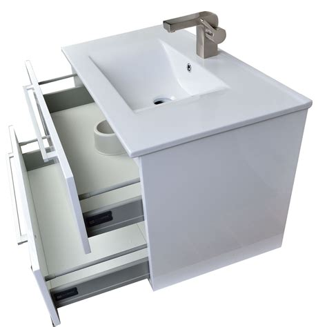buy caen 32 in wall mount modern bathroom vanity set high