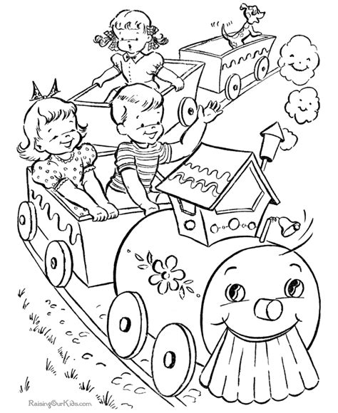 Free Printable Coloring Picture 005 Free Coloring Pictures To Print