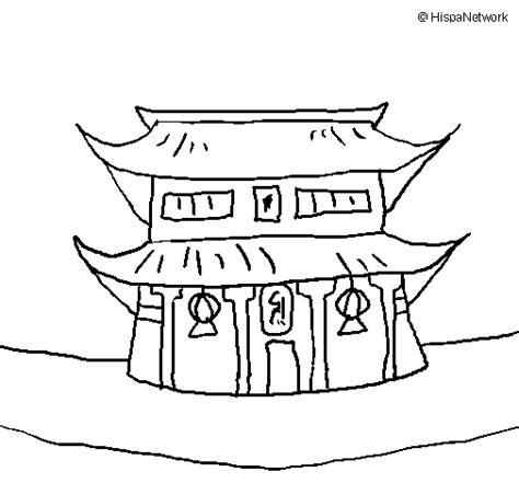 imagenes japonesas para pintar dibujo de templo japon 233 s para colorear dibujos net