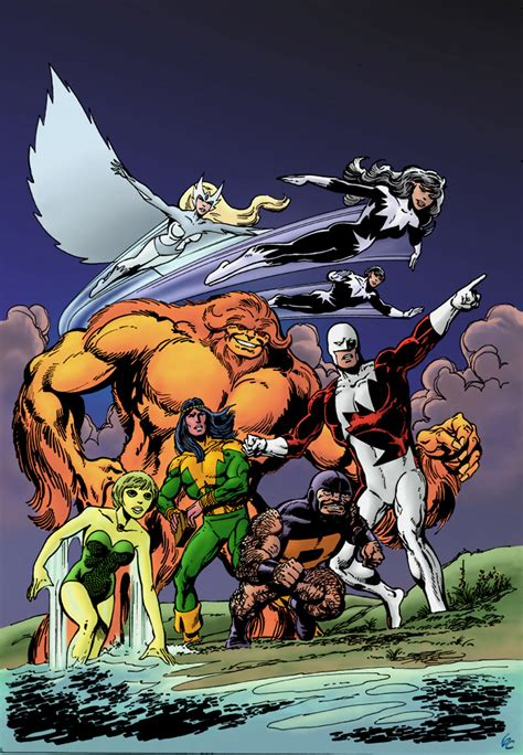 alpha flight by john web arted oct 19th comic book daily