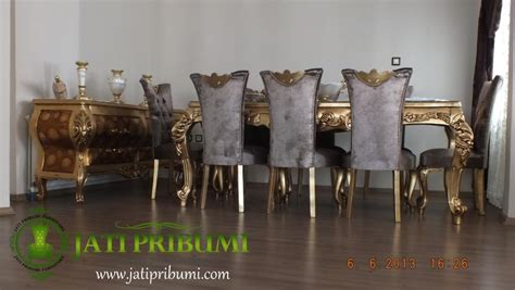 Makan Meja Di Raja Kuring meja makan ukiran terbaru orsolya jati pribumi