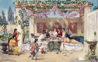 Food mcomg ancient rome