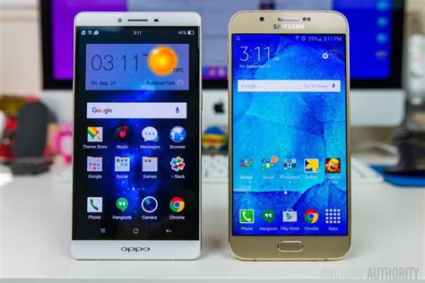 Samsung A8 Vs Note 4 oppo r7 plus vs samsung galaxy a8