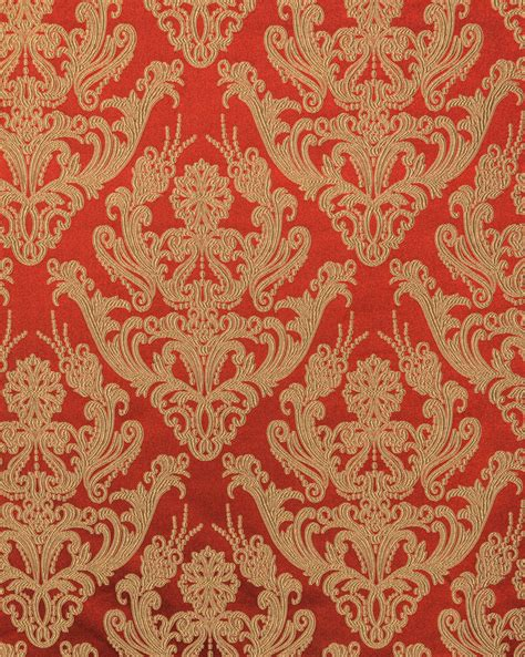 red and gold curtain fabric styles classic style brocade brocade curtain