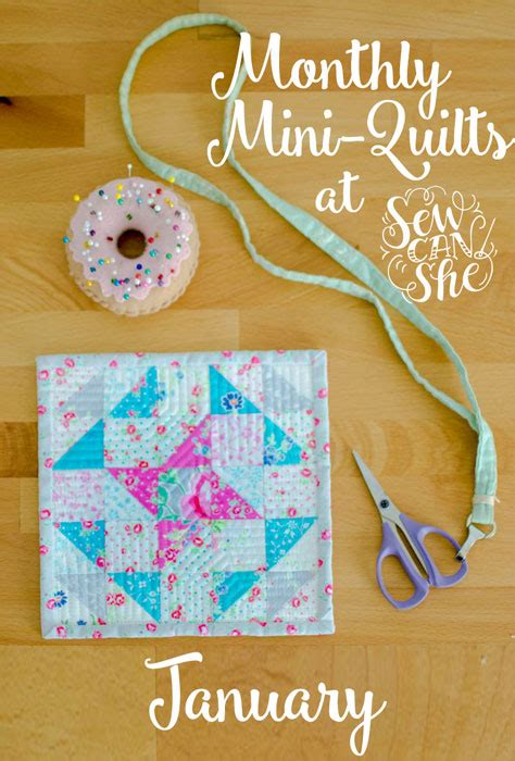 pattern rule for 1 8 27 64 monthly mini quilts for january sewcanshe free sewing