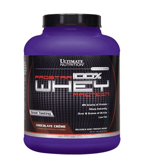 Whey Protein Prostar Ultimate Nutrition Prostar 100 Whey Protein 2 39 Kg Buy