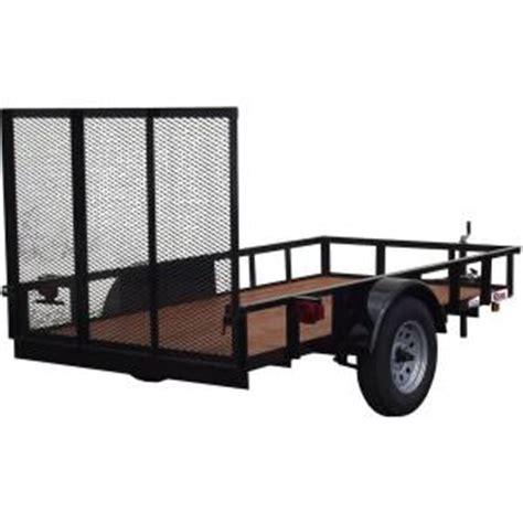 5 ft x 10 ft utility trailer