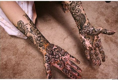 indian hand tattoos what are the meanings of henna tattoos quora