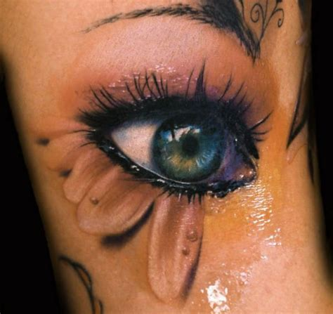 tattoo eye ink color ink 3d eye tattoo