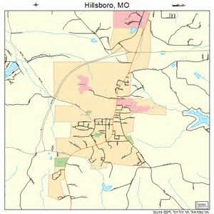 hillsboro missouri map 2932248