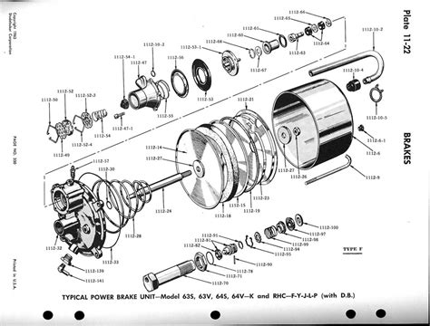 brake booster parts diagram bendix brake booster rebuild kit images frompo 1