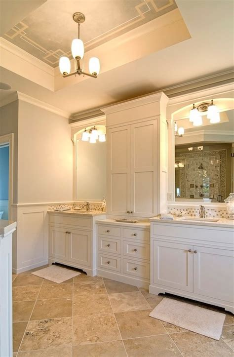 floor and decor cabinets travertine tile floor transitional bathroom farinelli construction