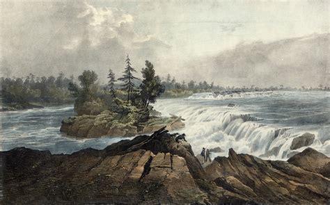 Chaudière Falls, Ottawa River, Upper Canada (Ottawa