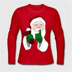 santa shirts classic santa clause gifts long sleeve shirt