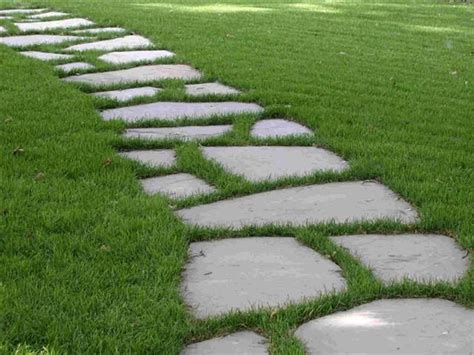 Backyard Stepping Stones by 25 Best Ideas About Stepping Paths On
