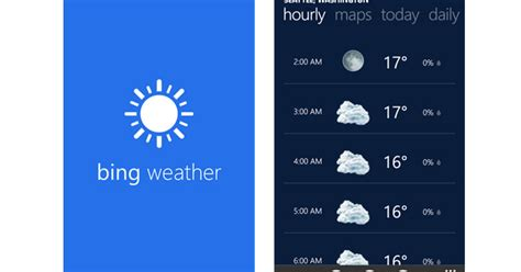 bing weather app windows phone bing weather app for windows phone free download urpouch