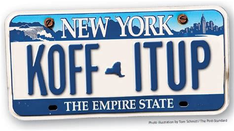 Ny Vanity Plates by New Ny License Plates Empire Gold For The Empire State