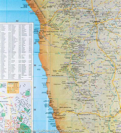tracks4africa namibia map carte routi 232 re de la namibie mapstudio la compagnie