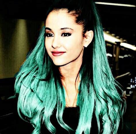 photos of arians hair ariana grande tumblr i blue hair in ari