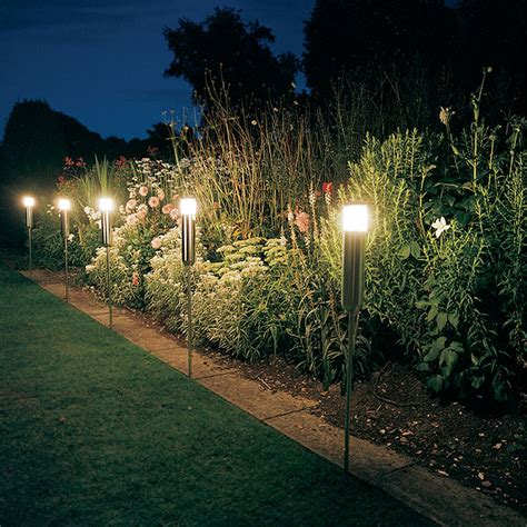 Fantastic Solar Outdoor Lights For Garden Freshnist Solar Landscaping Lights Outdoor