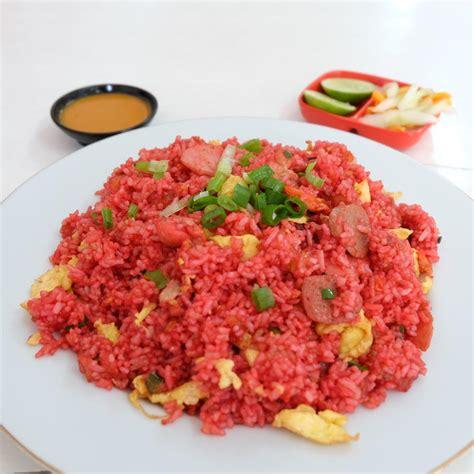 nasi goreng merah keunikan kuliner khas makassar kuliner