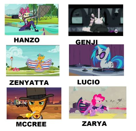 My Meme - my little pony overwatch meme 2 by brandonale on deviantart