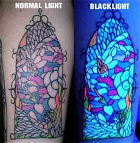 tinta tattoo glow in the dark blacklight reactive body art update glow in the dark