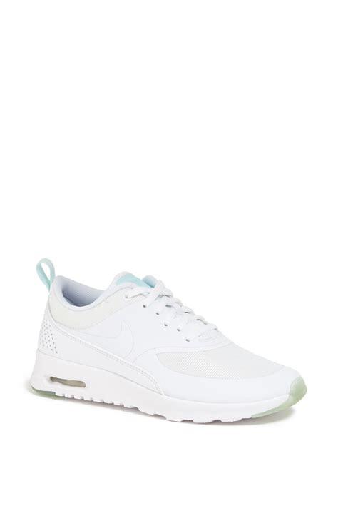 nike thea running shoes nike air max thea running shoe in white white